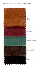 Conference Cloth Colour Chart