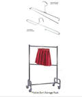 Table Skirting Hangers & Cart